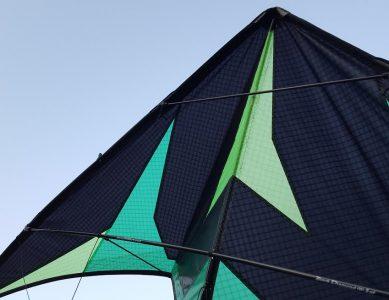 P3 'Raffle' kite built by Krijn